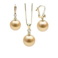 Bộ trang sức ngọc trai vàng Thao Linh Jewelry