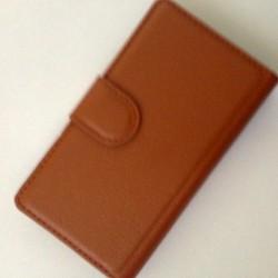 NOKIA LUMIA 520 - Bao da ví PU có khe để thẻ ATM cho điện thoại