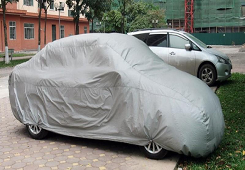 Bạt phủ xe oto 2 lớp cao cấp 3XL, Xe từ 5 chỗ trở xuống 3