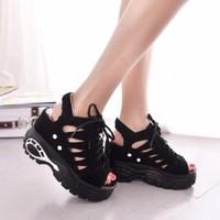 Giày Sandal tăng chiều cao hàng nhập cao cấp