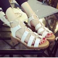 giày sandal giây móc siêu xinh - AD1