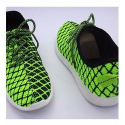 giày sneaker nam caro phối màu Mã: GH0329 - XANH LÁ