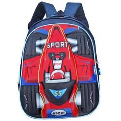 Ba lô đi học 3D xe đua thể thao