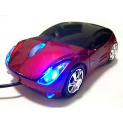 Chuột vi tính hình ô tô có đèn LED