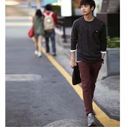 Quần kaki nam Hàn Quốc