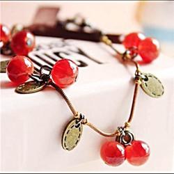 Vòng tay cherry đỏ