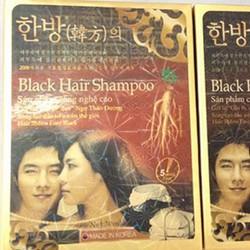 2 Dầu Gội Đen Tóc Black Hair Shampoo