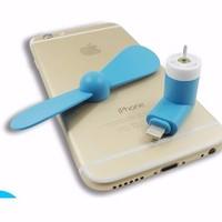 Xã hàng Quạt mini 2 cánh rời dành cho iphone 5 6 cực mát giá sỉ và lẻ