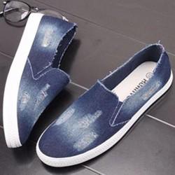 Mã VN073- Hàng nhập- Giày mọi Jean cá tính thời trang VN073