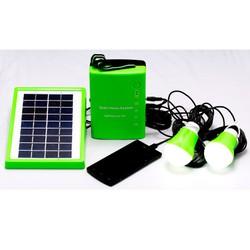 Bộ bình sạc năng lượng mặt trời : tấm năng lượng, bình điện,đèn...