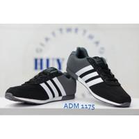 Giày Adidas xám đen