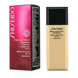 Kem nền Shiseido Sheer and Perfect Foundation SPF 18 B100
