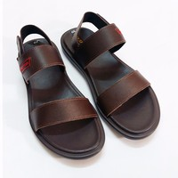 Giày sandal da bò Dr. Marten nâu nam tính