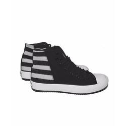 Giày bata cao cổ nữ phong cách hàn quốc SA207