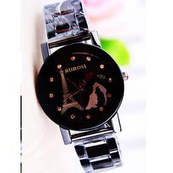 Free Ship- Đồng hồ nữ phong cách Hàn Quốc ROROSI