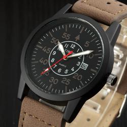 Đồng hồ nữ Xi New dây da SP241