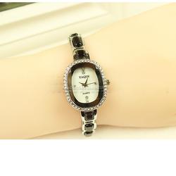 Free Ship- Đồng hồ thời trang phong cách Hàn Quốc Yaqin