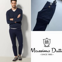Quần kaki Massimo Dutti