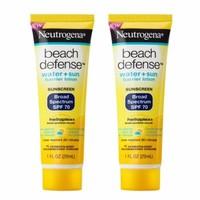 Bộ 2 kem chống nắng Neutrogena Beach Defense SPF70 29ml