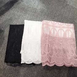 Chân váy ren ôm phong cách Hàn Quốc
