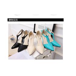 Giày nữ cao gót thời trang, thiết kế thoáng khí, mẫu xuân hè mới