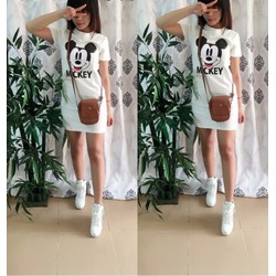 Đầm suông Mickey