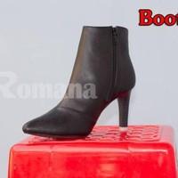 Giày bot da bò nữ Romana cao cấp