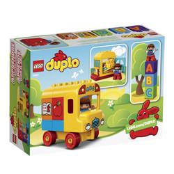 Bộ lắp ráp LEGO Duplo 10603 - Xe Buýt học chữ của Bé