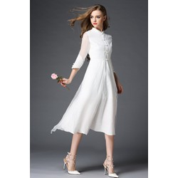 Art Fashion : Đầm Áo Dài Ba Tà độc đáo