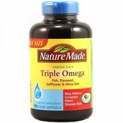 Viên uống bổ sung Omega 3-6-9 Nature Made 150 viên