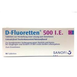 Vitamin D-Fluoretten 500 I.E