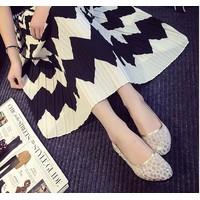 giày loafer lưới nữ tính Mã: GC0092 - TRẮNG