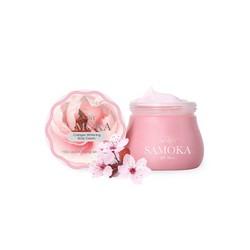 Kem dưỡng trắng da toàn thân Samoka - Collagen Whitening Body Cream