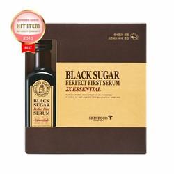 Tinh Chất Skinfood Black Sugar Perfect First Serum 2X Essential