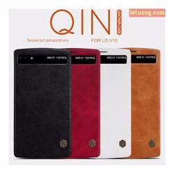 Bao da LG V10 Nillkin Qin Leather View