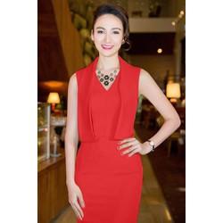 Đầm body đỏ thiết kế sang trọng