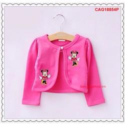 Áo khoác thun in mickey dễ thương cho bé gái chỉ còn size 19kg-22kg