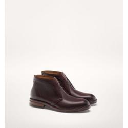 Giày ankle boot Massimo Dutti chính hãng Leather MDB539