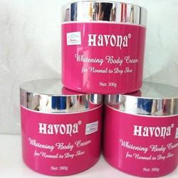 Kem dưỡng siêu trắng da toàn thân HAVONA - 300G