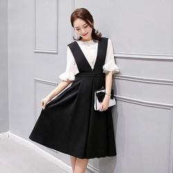 hàng nhập set áo và váy yếmTB0206