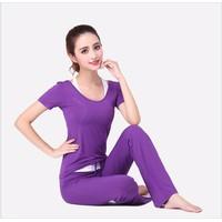 Bộ tập Yoga áo và quần dài BT669