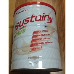 Thực phẩm bổ sung dinh dưỡng iSustain + Fibre Vanilla hộp 900g - Úc