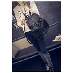 Ba lô da nữ trẻ trung, phối tua rua nổi bật, thời trang hiện đại-T306