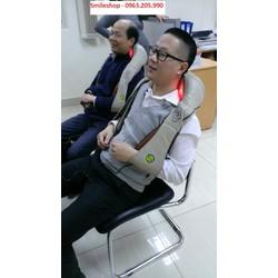 Đai massage giảm đau vai cổ gáy Nhật Bản
