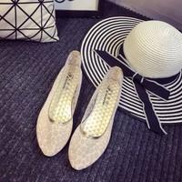 giày loafer lưới nữ tính Mã: GC0092 - HỒNG