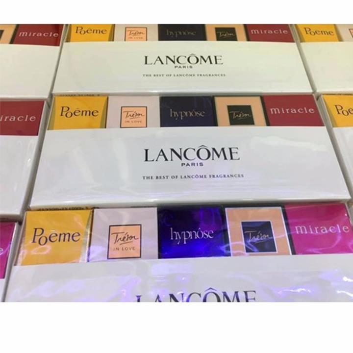 nước hoa Bộ 5 chai  Lancôme 5 hương khách nhau hàng singapore - 211 5
