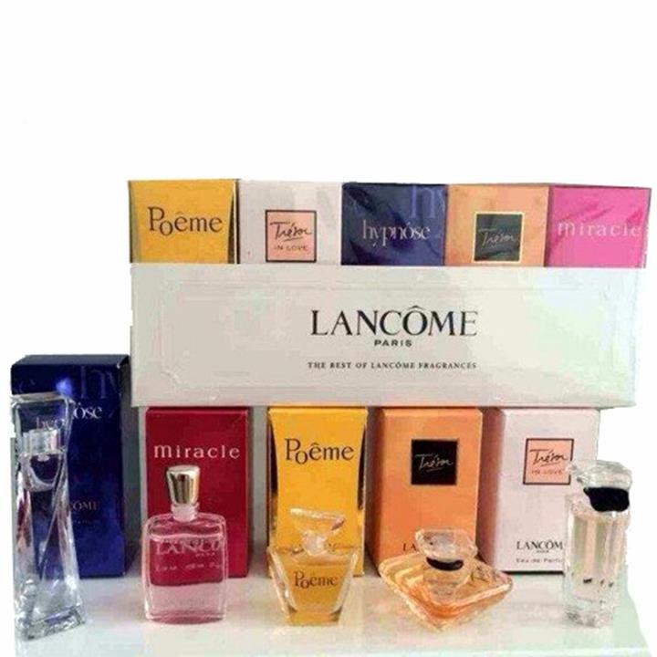 nước hoa Bộ 5 chai  Lancôme 5 hương khách nhau hàng singapore - 211 8