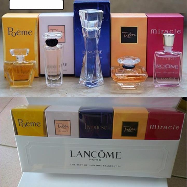 nước hoa Bộ 5 chai  Lancôme 5 hương khách nhau hàng singapore - 211 4