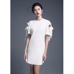 Đầm Suông Chữ A Thắt Nơ Xinh Như Hạ Vy - 2614.DZO