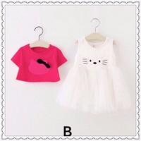 Đầm xòe kitty hồng
